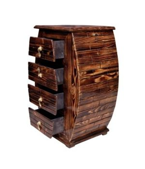 Pebble Crafts wooden antique design cabinet