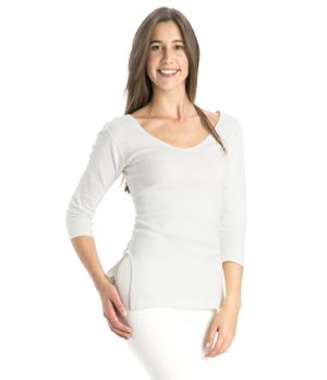 Jockey Thermal 3/4th Sleeve Top Style#2503