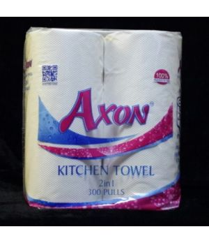 AXON KITCHEN ROLL 2IN1 2PLY 300PULLS