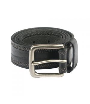 Belt Leather Men bk Cow Oily TB108LM1BS