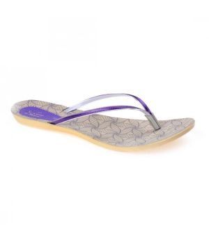 Paragon WOMEN'S PURPLE SOLEA ETHNIC FLIP FLOPS