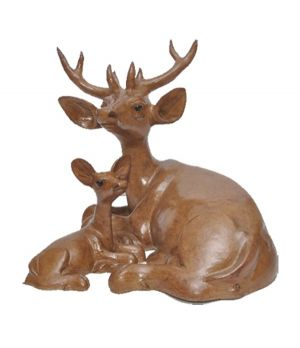 Hand Craft Paper Mache - Deer
