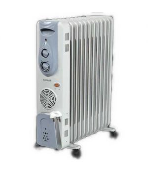 Havells OFR 11 Fin 2900-Watt PTC Fan Heater (White) GHROFADW290